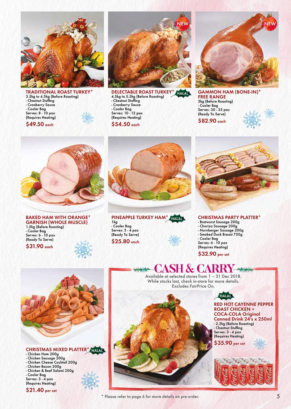 FairPrice Christmas Catalogue - Deli