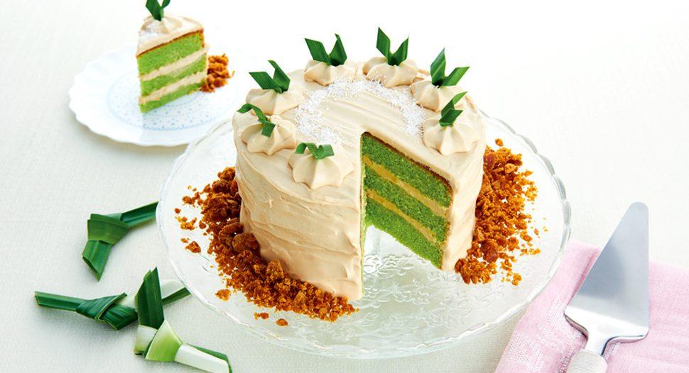 Recipes – Pandan Gula Melaka Cake   FairPrice