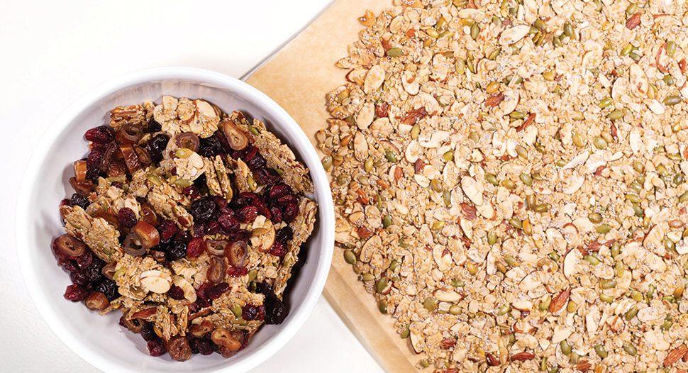 Easy Homemade Granola by Karina Heinrich