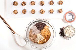 Peanut Butter Protein Bites by Karina Heinrich