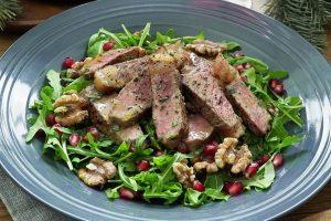 Yuletide Steak Salad Surprise