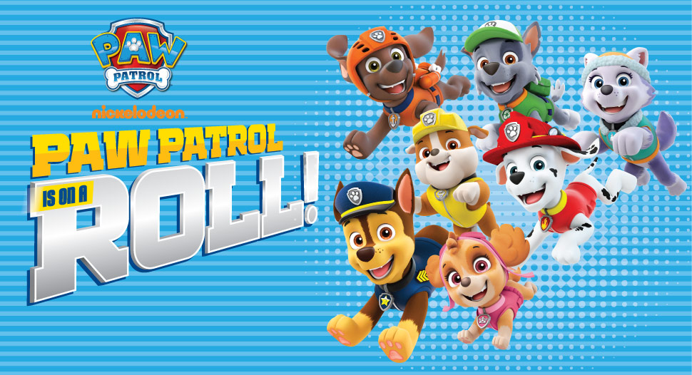 Events – Paw Patrol is on a Roll! Only at FairPrice Xtra | FairPrice