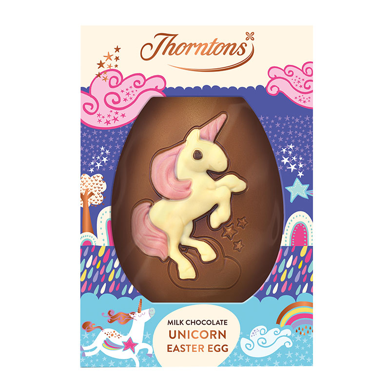 FairPrice Finest Easter - Thorntons Milk Chocolate Unicorn Easter Egg 151g