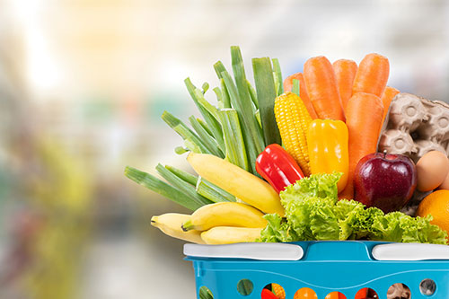 10 tips to longer-lasting groceries - Basket of Fruits and Vegetables