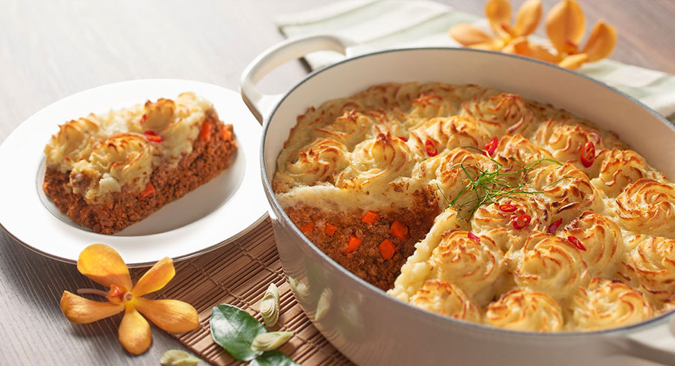 Rendang Shepherd's Pie