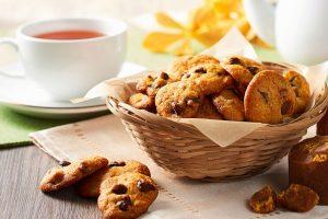 Salted Gula Melaka Chocolate Chip Cookies