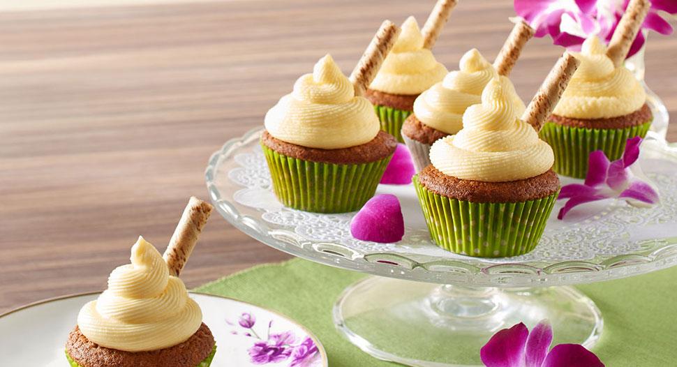 Teh Tarik Cupcakes