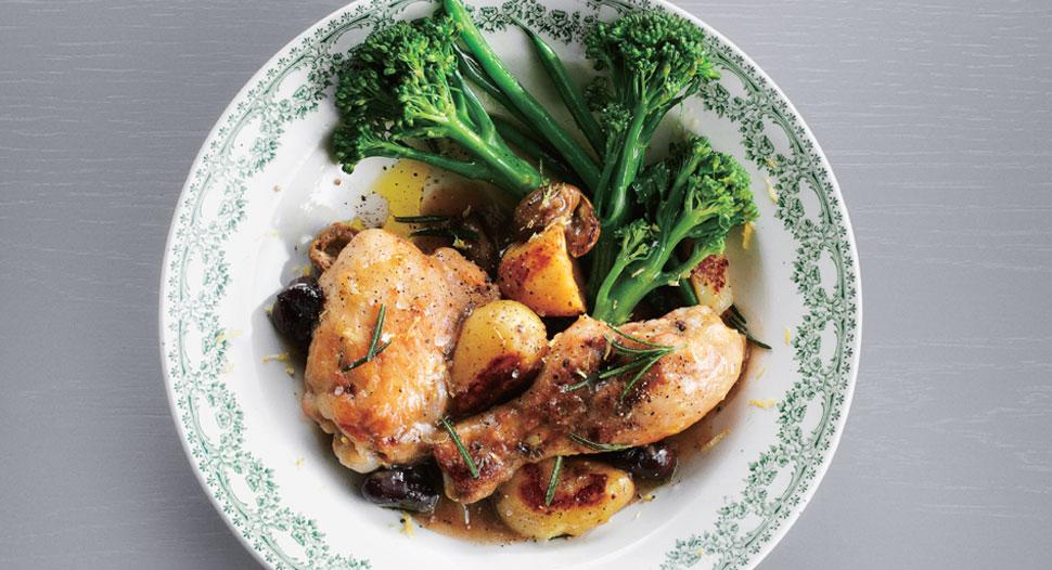 Jamie Oliver - Italian-Style Chicken Stew