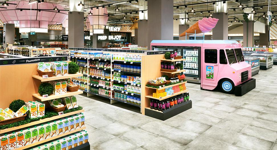 Xtra Organic and Ice-cream truck