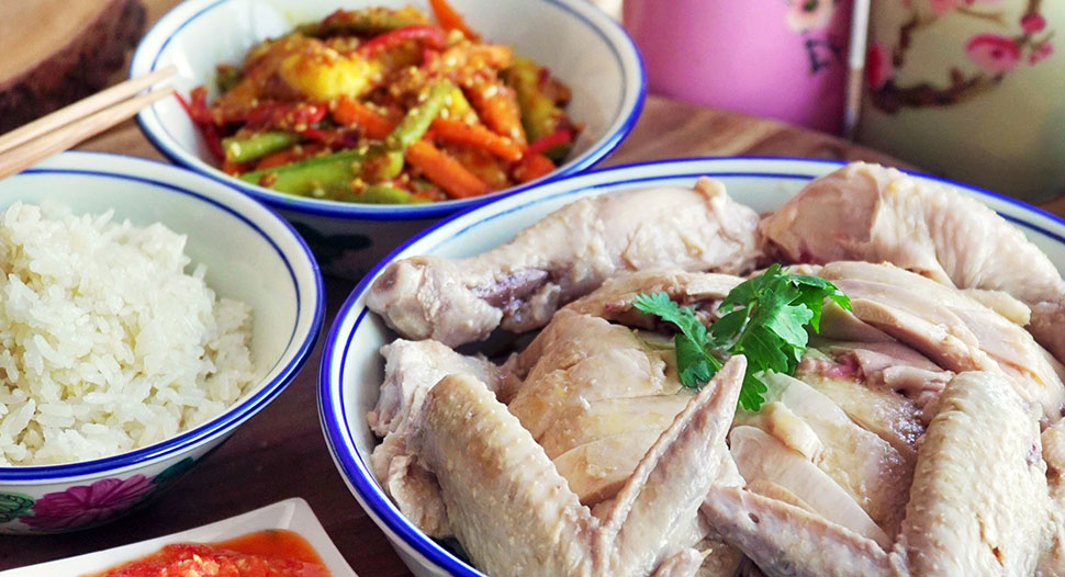 Recipes Ah Ma's Chicken Rice
