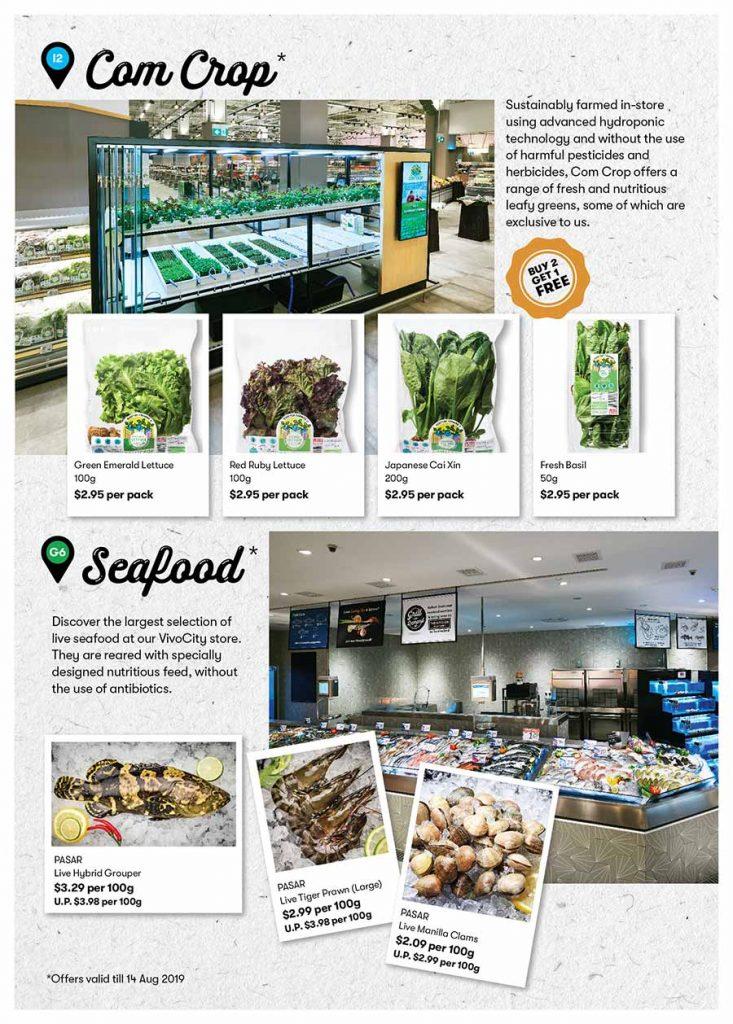 Indoor Farming & Seafood