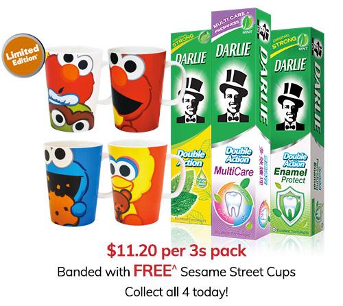 Sesame Street Cups