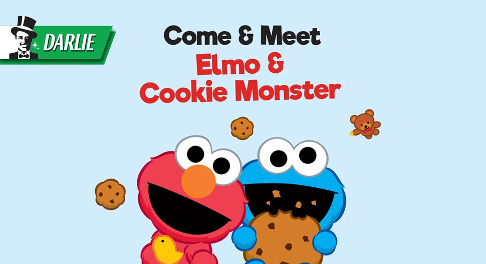Meet & Greet: Elmo and Cookie Monster-970x526
