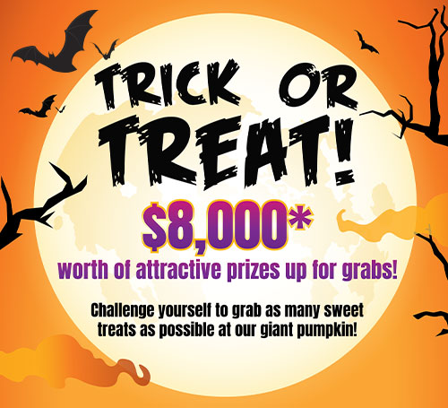 FairPrice Finest Halloween - $8,000 worth of prizes to be won