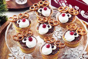 Rudolph Butter Cupcakes