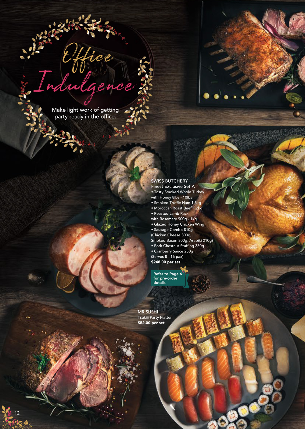 FairPrice Finest Christmas Catalogue 2019 - Office Party