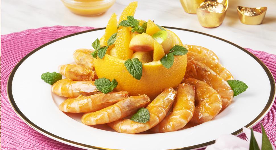 Fruitful Sweet Prawns