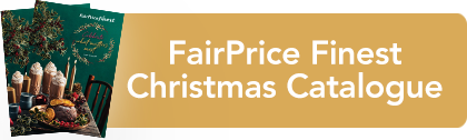 FairPrice Finest Christmas catalogue