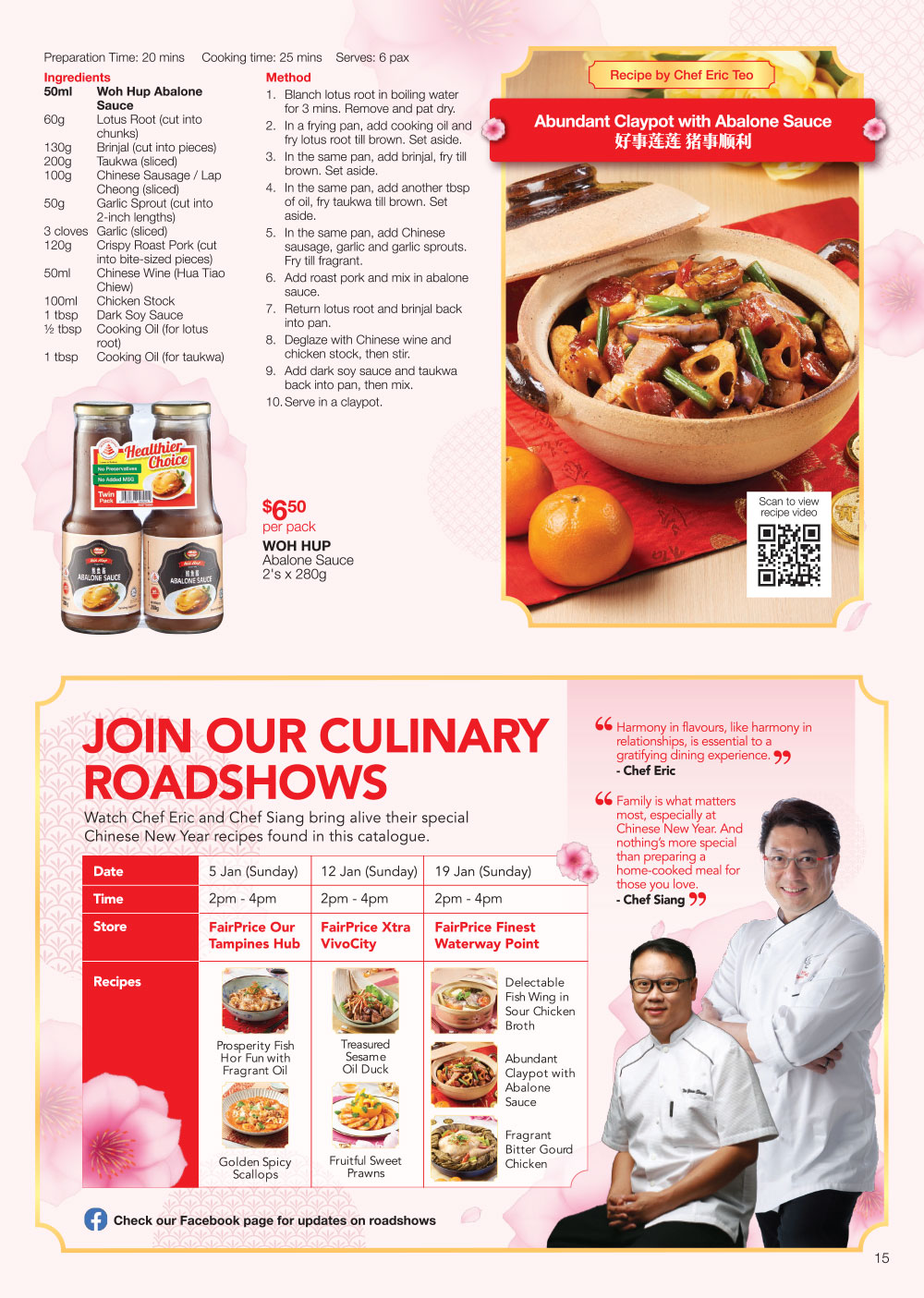 FairPrice Chinese New Year Catalogue Recipes