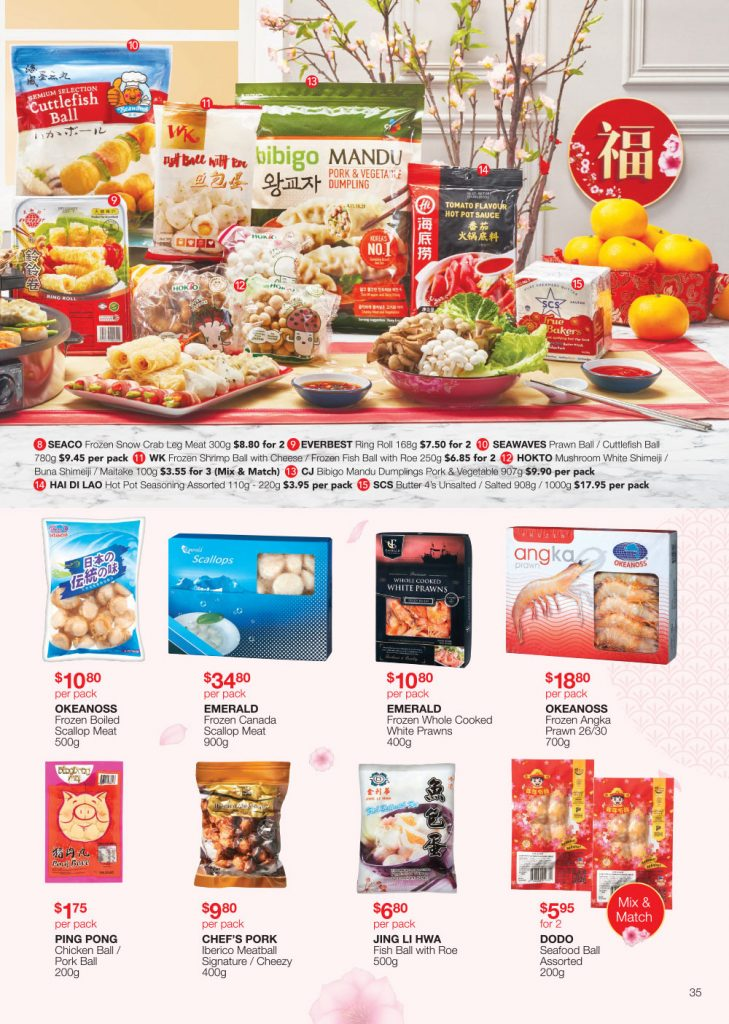 FairPrice Chinese New Year Catalogue Local Delights