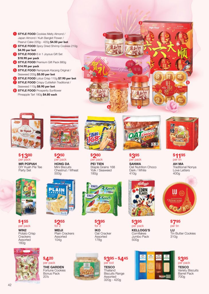 FairPrice Chinese New Year-Catalogue Visiting Must-haves