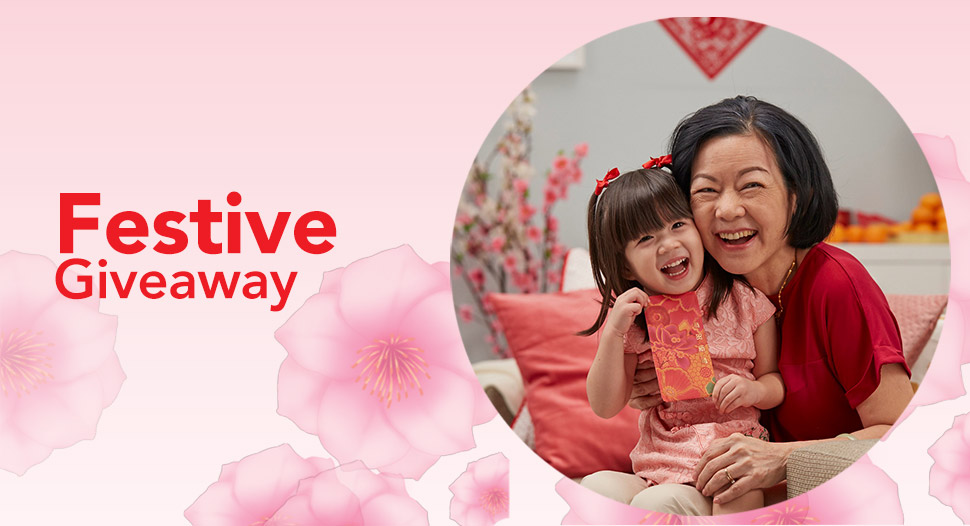 FairPrice Chinese New Year Giveaway