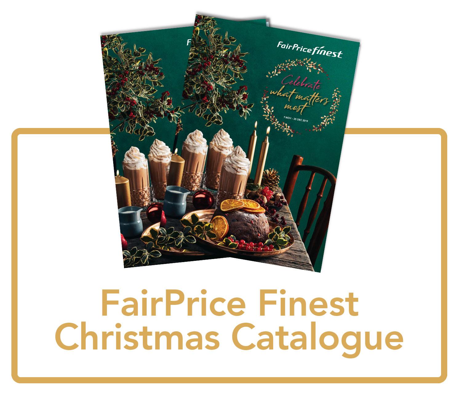 FairPrice Finest Christmas catalogue