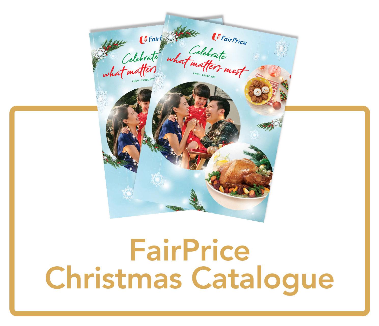 FairPrice Christmas catalogue