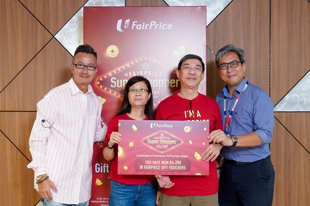 FairPrice Super Shopper - CNY - 16Jan - 2pm Top Winner