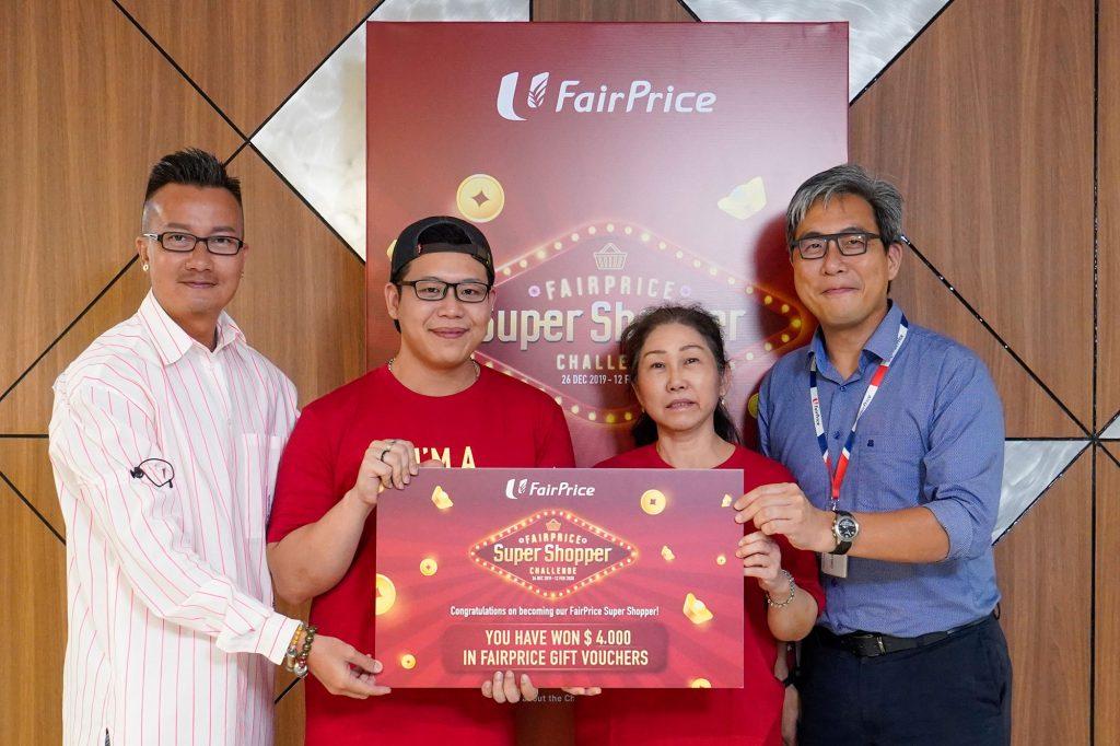 FairPrice Super Shopper - CNY - 16Jan - 3pm Top Winner