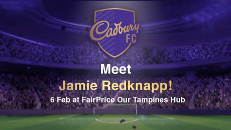 Cadbury FC - Meet Jamie Redknapp at FairPrice Our Tampines Hub