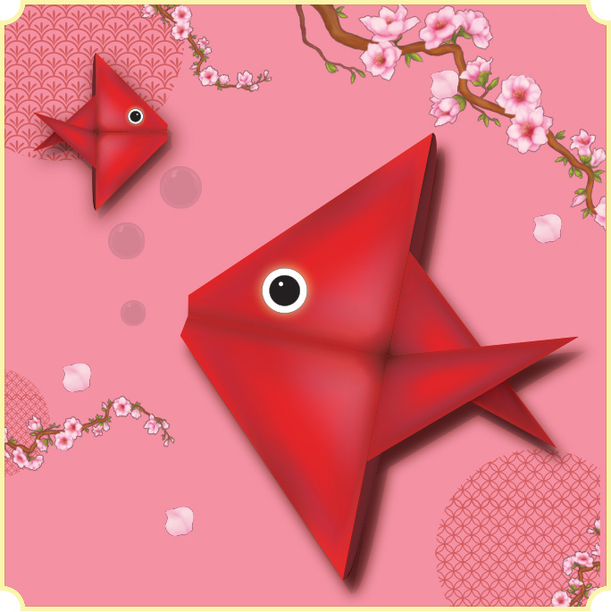 FairPrice Finest Ang Bao Fish Origami