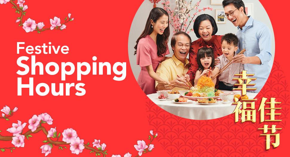 FaiPrice Festive Shopping Hours