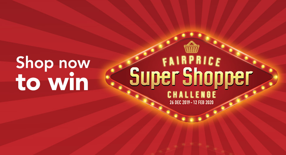 FairPrice Super Shopper Chinese New Year Edition