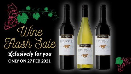Monthly Wine Flash Sale - Feb