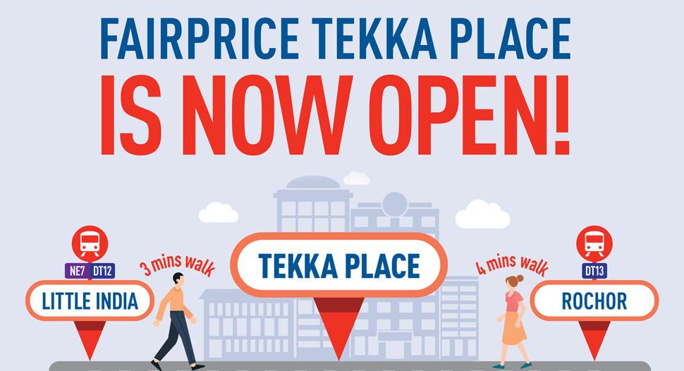 Tekka Place is now open!