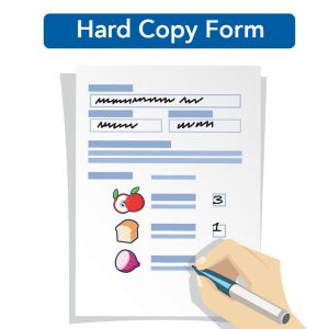 FairPrice Grocery Pick-up - Hard Copy Form