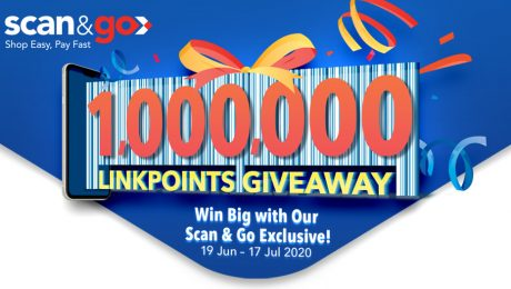 FairPrice Scan & Go 1 Million LinkPoints Giveaway