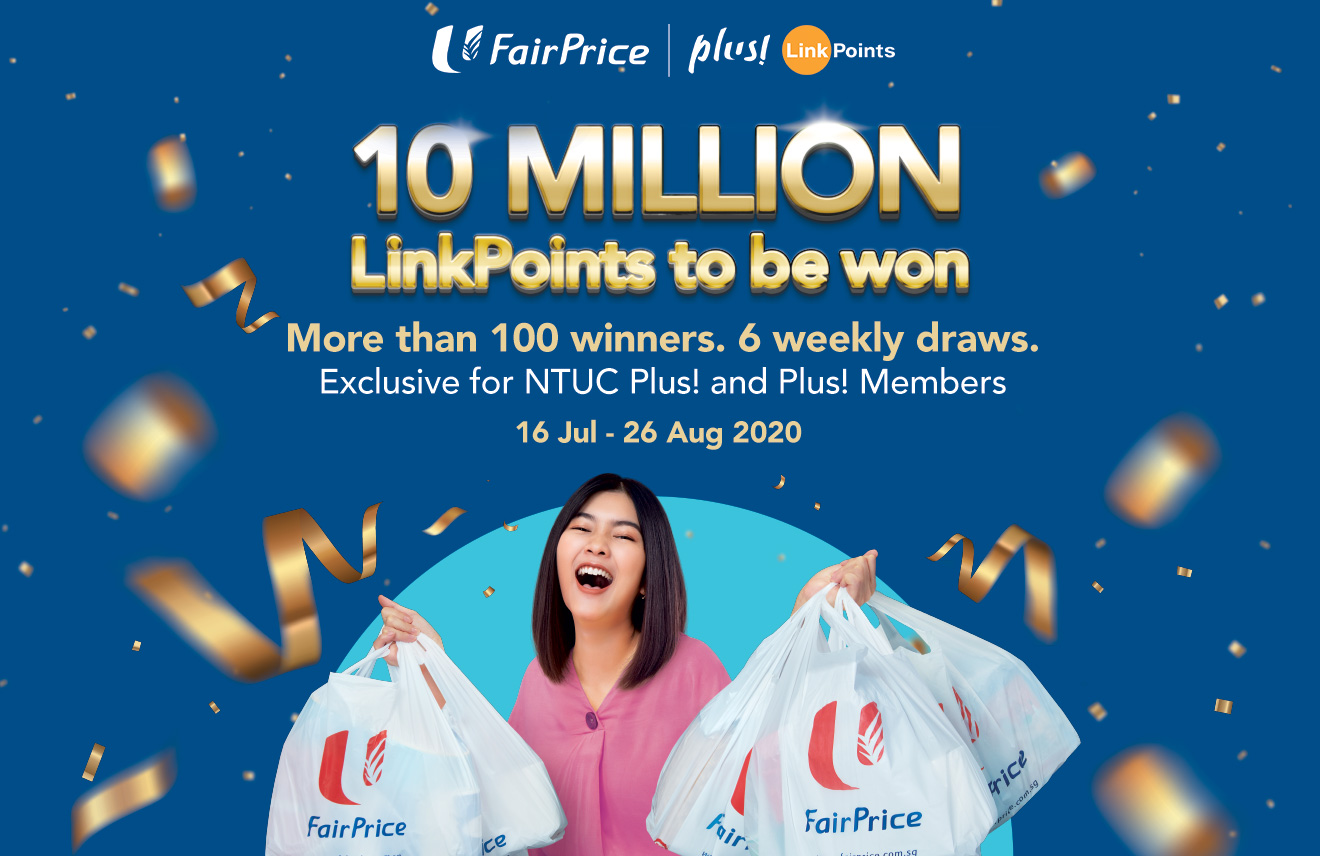 FairPrice - 10 Million LinkPoints to be won