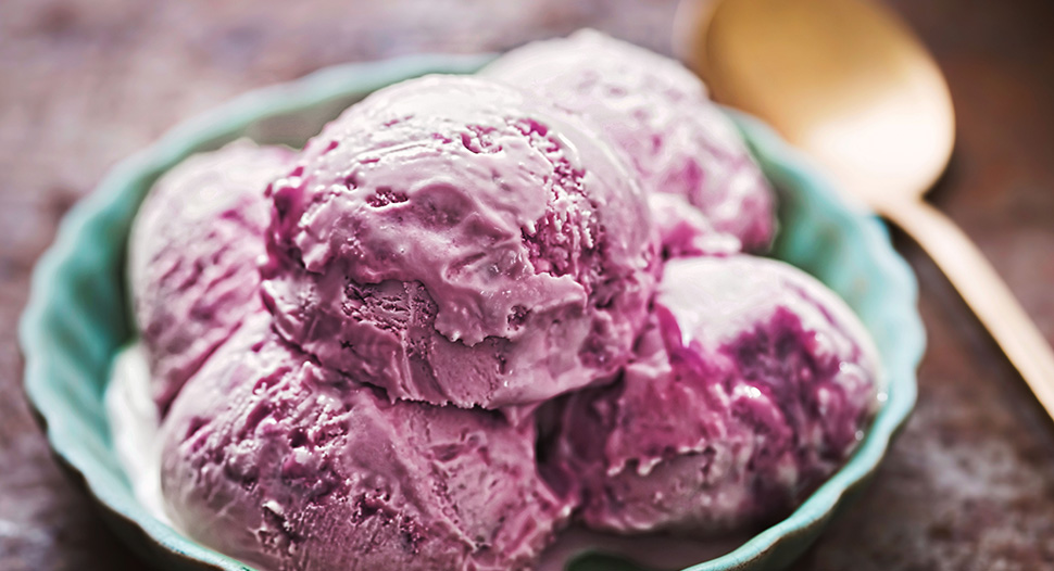 Blackcurrent Ice Cream Recipe