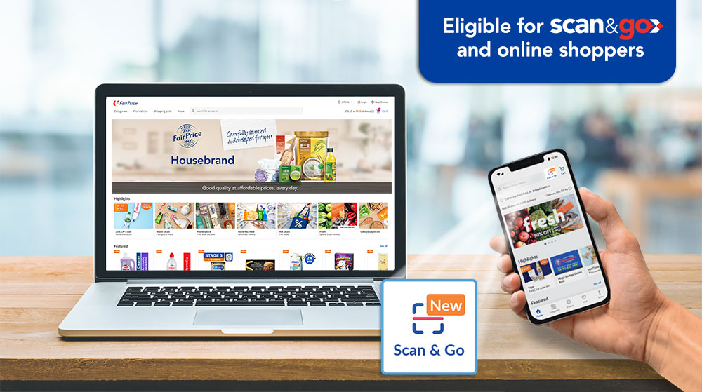 10 Million LinkPoints eligible for online and Scan & Go shoppers