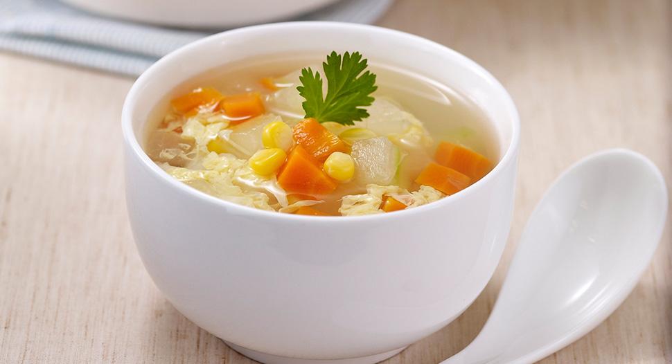 Winter Melon & Corn Soup