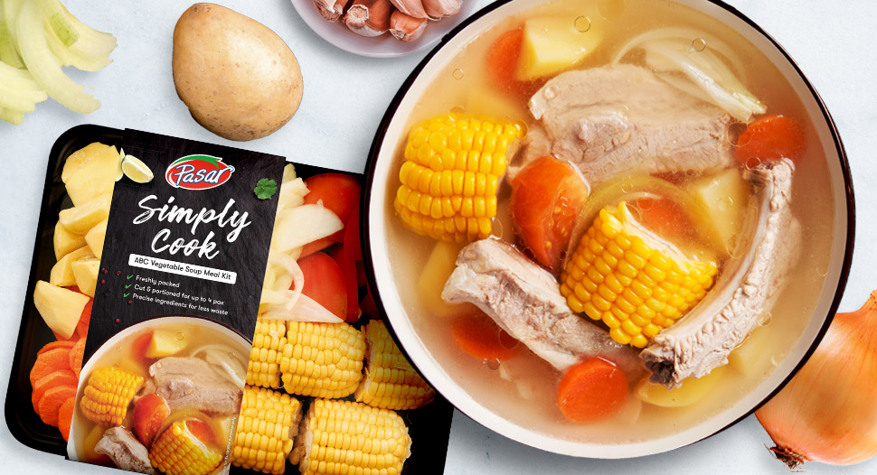 Simply Cook Vegetable Kit – ABC Soup