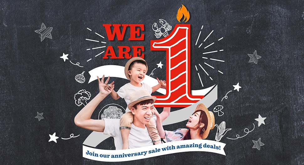 FairPrice Xtra VivoCity 1st Year Anniversary