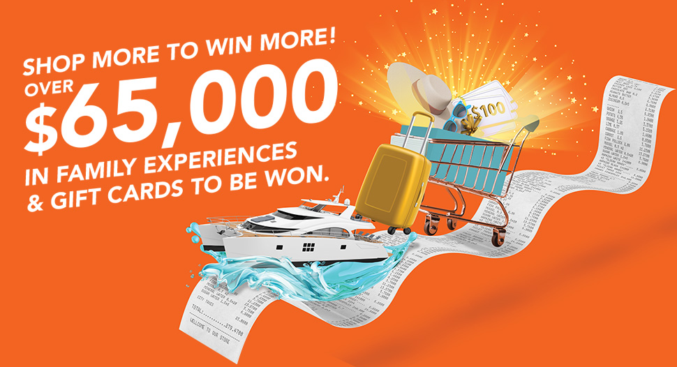 Shop More to Win More!