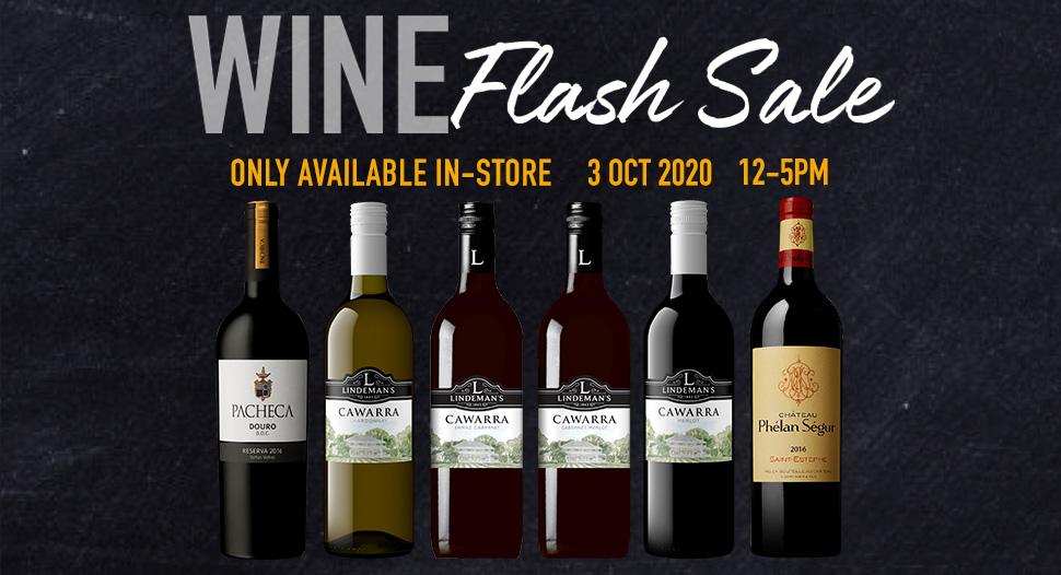 Finest Wine Flash Sale - 3 Oct