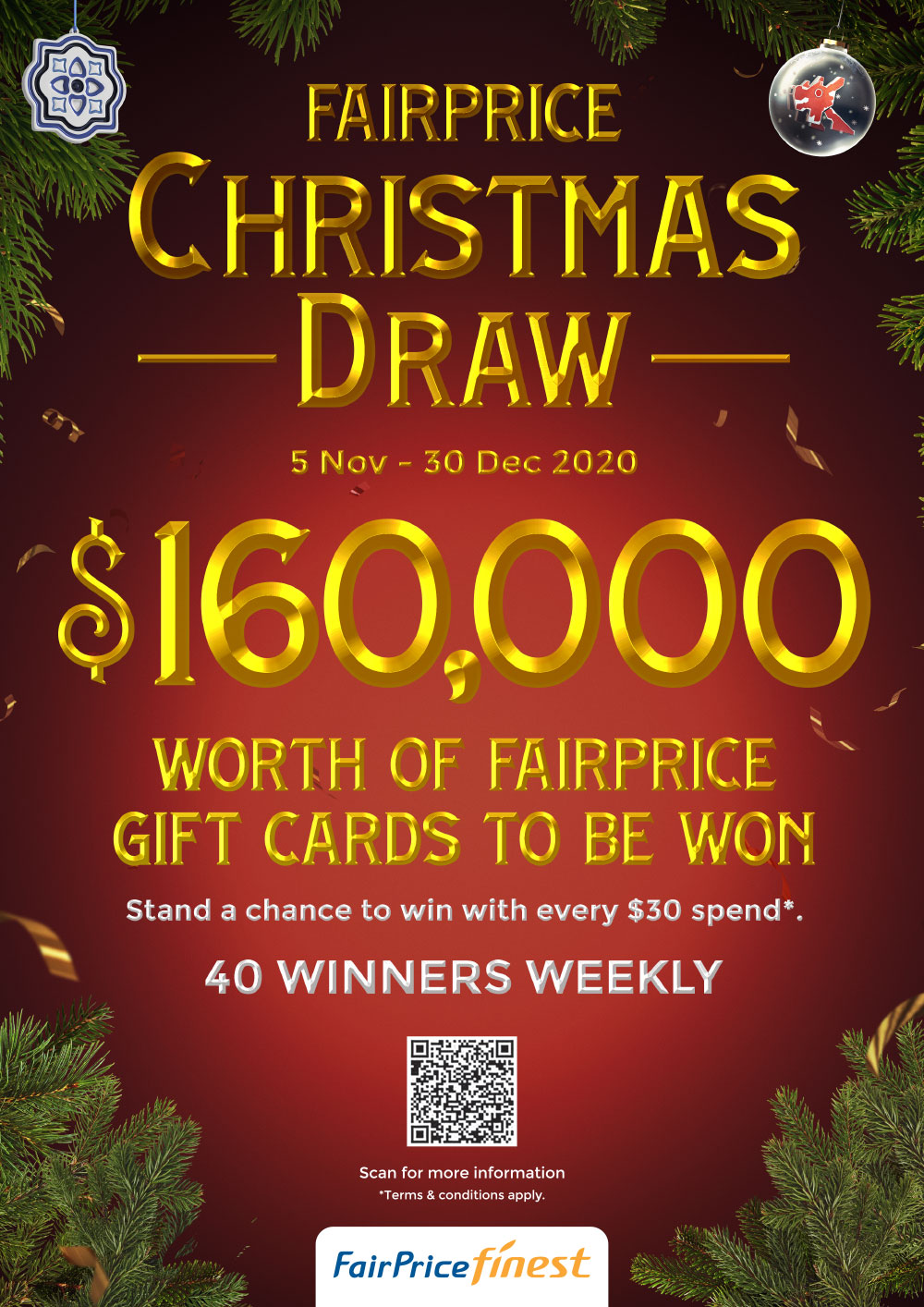 FairPrice Finest Christmas Catalogue 2020 - Christmas Draw