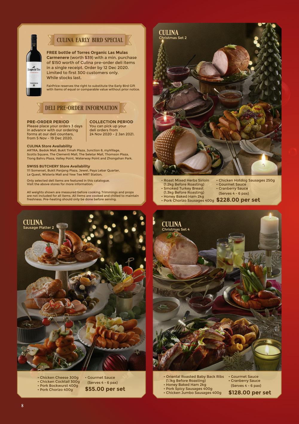 FairPrice Finest Christmas Catalogue 2020 - Recipes