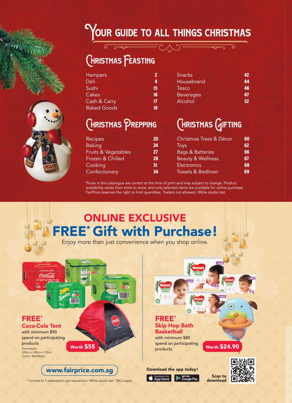 FairPrice Christmas Catalogue 2020