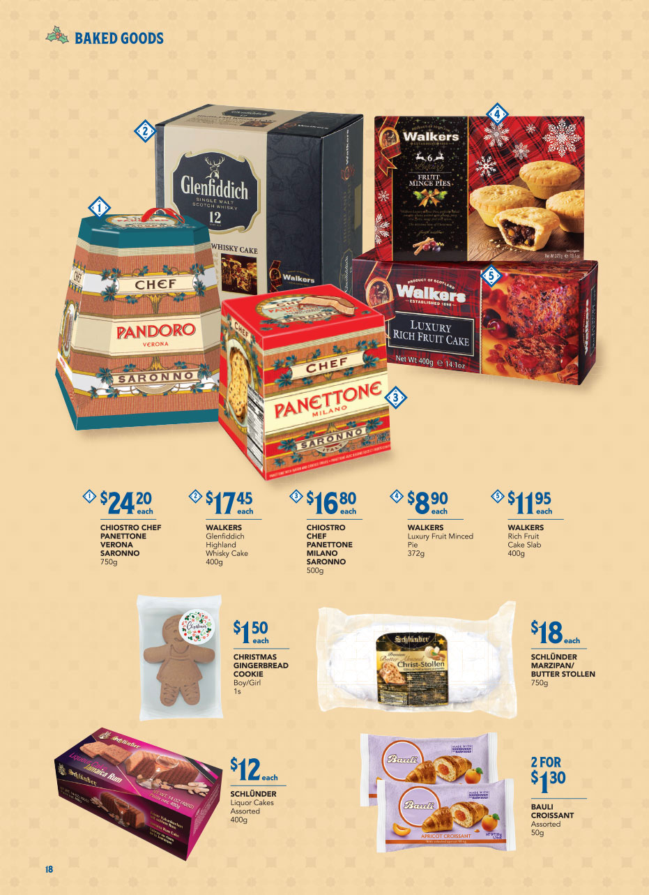 FairPrice Christmas Catalogue 2020 - Baked Goods